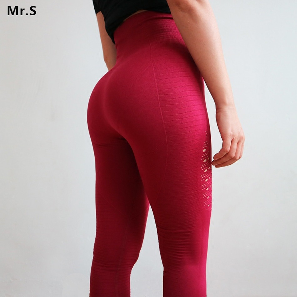 select for authentic exceptional range of colors excellent quality Diqian Super Stretchy Women Gym Tights Energy Seamless Tummy Control Yoga  Pants High Waist Sport Leggings Purple Running Pants